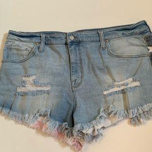 🇺🇸 American Flag Jean Shorts 🇺🇸